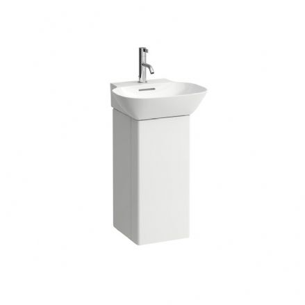 815301 - Laufen Ino 450mm x 410mm Washbasin & Vanity Unit (Left Hinge) - 8.1530.1